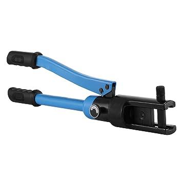 VEVOR Crimpadora Hidráulica gama 16-240mm2 Herramienta de Crimpadora Hidráulica para Cable Alicates 12 Ton 10 Dados Crimpadora Tenaza Conexión Crimpadora ...