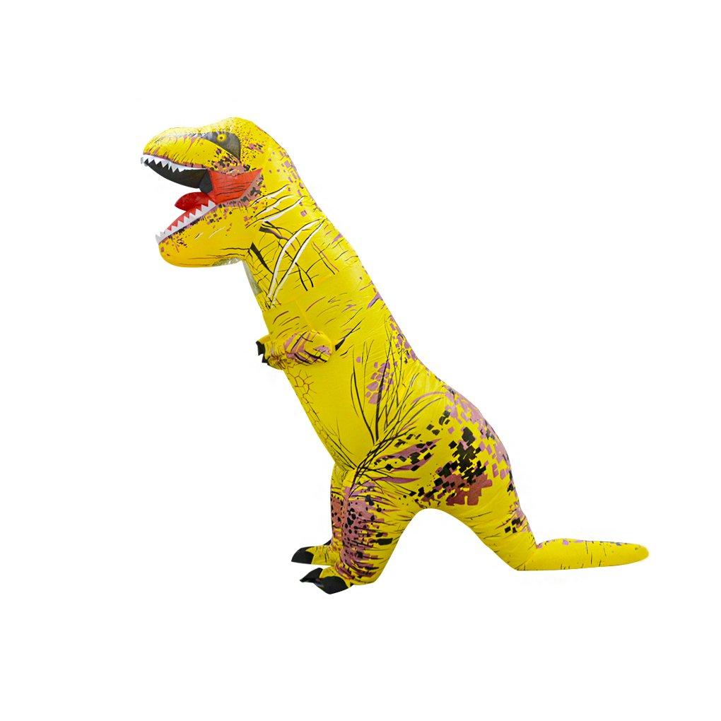 Masterein Erwachsene / Kinder Dinosaurier Aufblasbare Kostüm Kostüm Kostüm Tyrannosaurus Cosplay Party Kostüm 887e9a