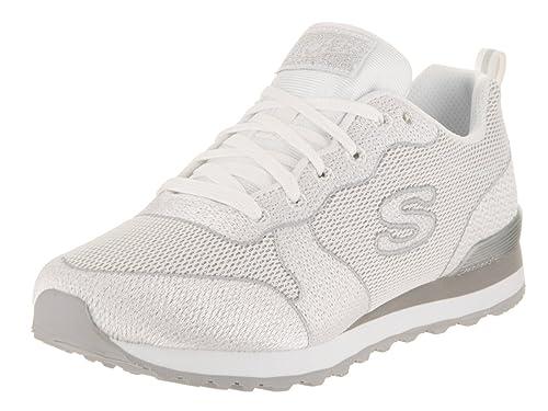 Skechers Original 117 White OG Shimmer Scarpe Sneakers Donna ...