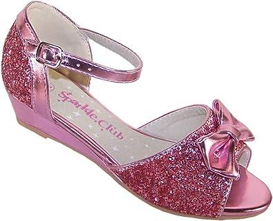 Girls' Kids Pink Pink Sparkly Glitter