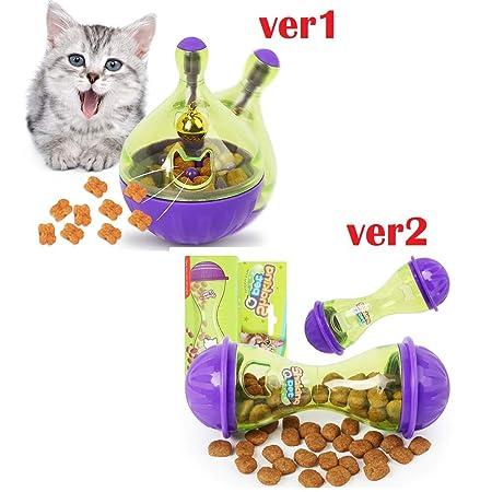 LQT Ltd Juguete Interactivo para Gatos IQ Bola de golosinas ...
