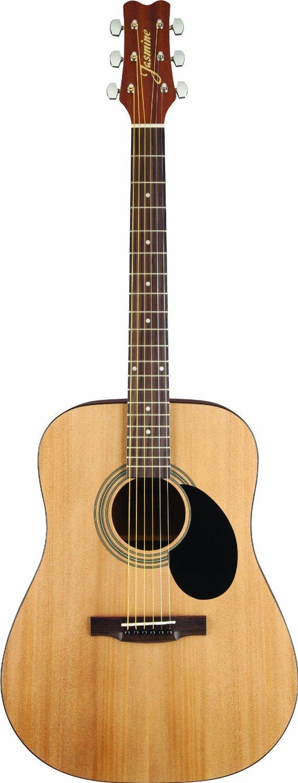 jasmine s35 acoustic guitar natural jasmine guitar new ebay. Black Bedroom Furniture Sets. Home Design Ideas