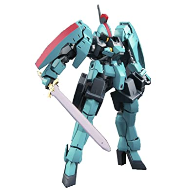 Bandai Hobby HG IBO 1/144 Carta's Graze Ritter Gundam Iron-Blooded Orphans Action Figure: Toys & Games