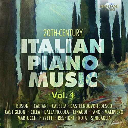 (20th Century Italian Piano Music, Vol. 1)
