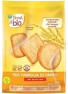 Probios Break&Bio Galletas de Espelta -Surtido - 6 paquetes