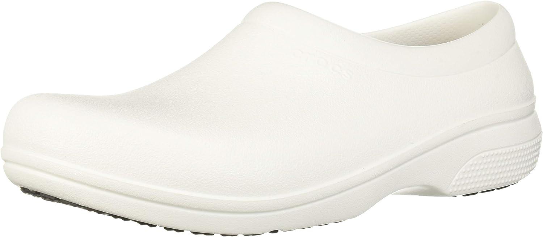 Crocs Unisex-Adult On The Clock Clog | Slip Resistant Work Shoes