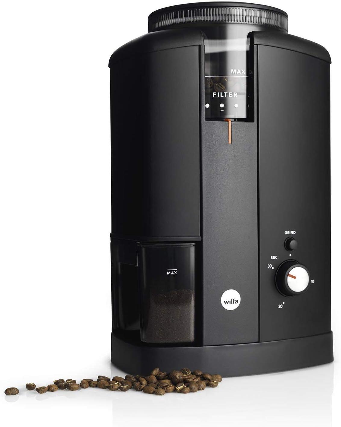 Wilfa Svart CGWS-130B Molinillo eléctrico de café, Negro, estándar ...