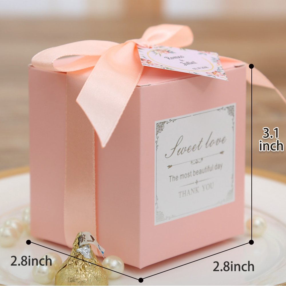 Amazon.com: Doris Home 50 pcs Birthday Wedding Party Favor, Wedding ...