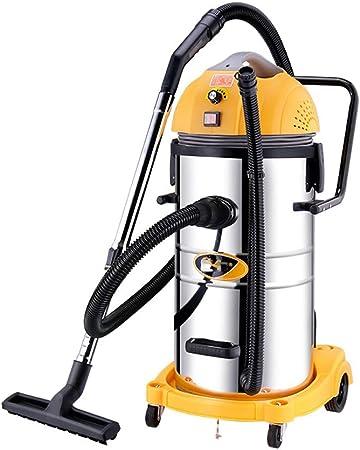 TY-Vacuum Cleaner MMM@ Aspirador 1800 W Potencia Comercial Comercial Barril Industrial Seco y húmedo Tres hoteles Hotel Alfombra Lavado de Coches Taller de fábrica Taller 60L Velocidad Ajustable: Amazon.es: Hogar