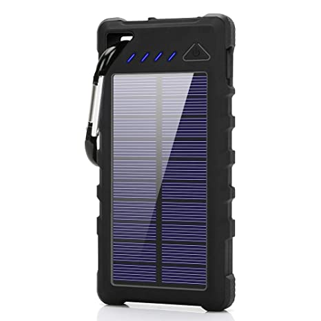 watch 587b8 1ae76 Solar Charger, fkant 16000mah Solar Phone Charger ipx7: Amazon.in ...