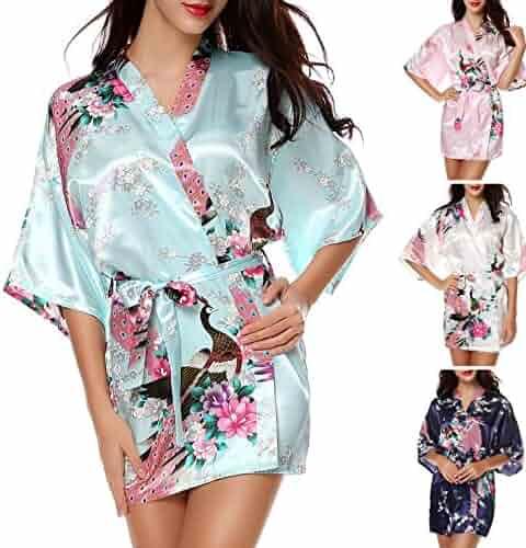 e719850a58 Toping Fine adult-exotic-sleepwear-and-robe-sets Kimono Robe Women s