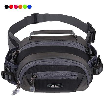 e0d771e23acb Y&R Direct Fanny Pack Waist Bag Packs Large Running Belt Bum Purse Bags  with Bottle Holder Extension Strap Women Men Boy Girls Kids Gifts  Waterproof ...
