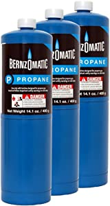 Standard Propane Fuel Cylinder - Pack of 3
