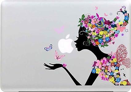 Sticker Adhesivos Para Macbook Desprendibles Creativo Color árboles