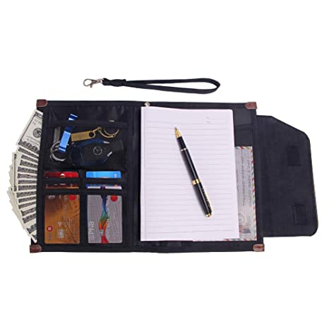426e205c49da House of Quirk Multi-Purpose Travel Passport Wallet Document ...