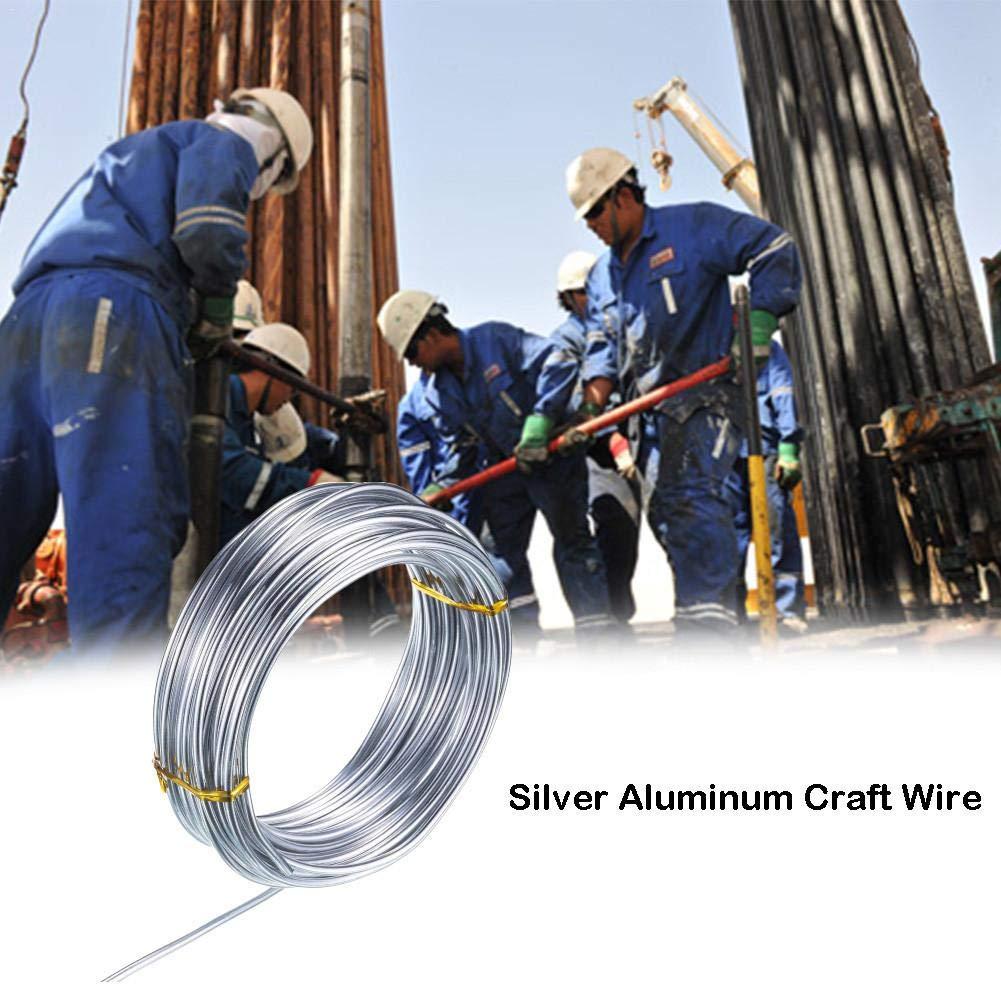 remote.S Alambre De Aluminio Tama/ño 1,0mm 1,5mm 2,0mm Alambre De Artesan/ía Flexible para Manualidades Artesania DIY
