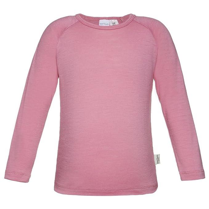 9a6478f43 Sweet Cheeks Merino - Camiseta térmica - para niña Rosa rosa 8 años   Amazon.es  Ropa y accesorios