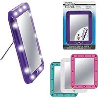 MERANGUE Locker Worx Light-up Magnetic Locker Mirror, Color May Vary