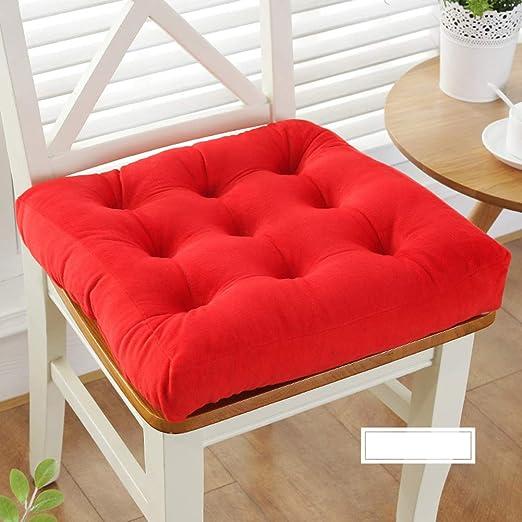 Amazon.com: YEARLY - Cojines para silla de color sólido ...