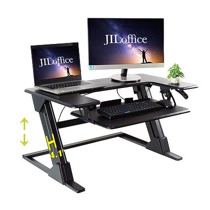 premium selection 14e5e 800e5 Amazon.com : JILoffice Height Adjustable Standing Desk - Sit ...