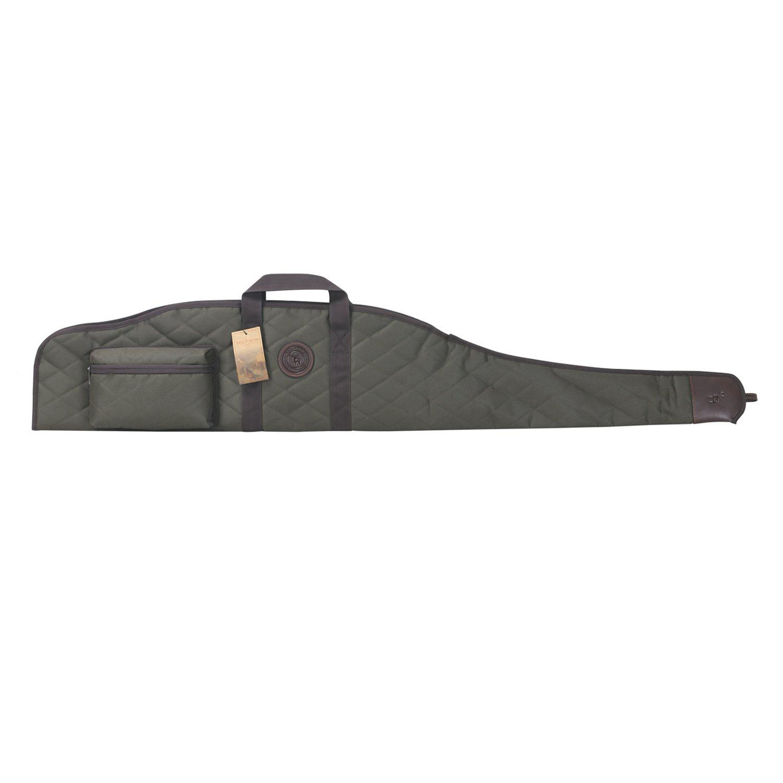 Tourbon Funda para Escopeta Plegable Verde de Nailon y Cuero 138 cm Largo - Fundas Tácticas HS434NLSL