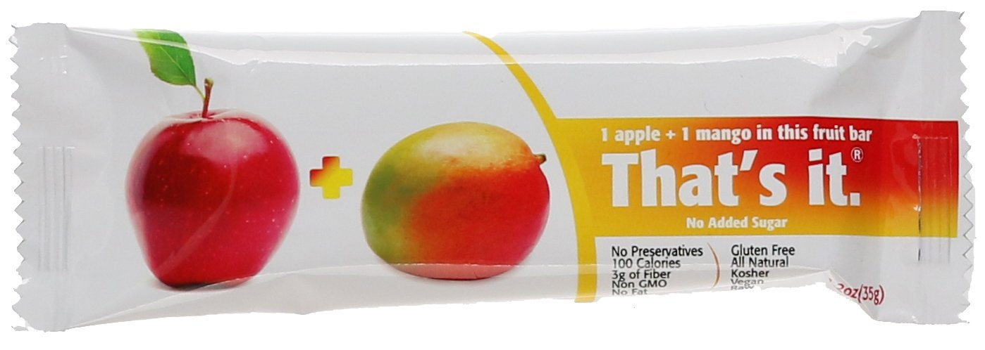 THATS IT Fruit BAR Apple Mango 1.2OZ