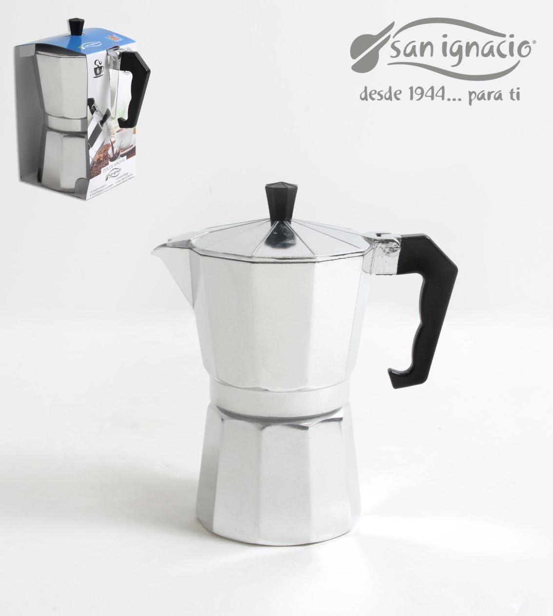 San Ignacio CAFETERA 9 Servicios Classic, Aluminio, Cromado ...
