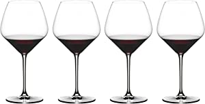 Riedel Extreme Pinot Noir Wine Glasses, Set of 4, Clear