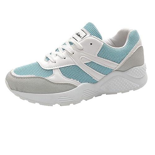 Zapatillas Deportivas Mujer💗 Btruely Moda Mujer con Cordones Zapatos Deportivos Transpirable Zapatos Casuales Estudiante Zapatillas: Amazon.es: Zapatos y ...
