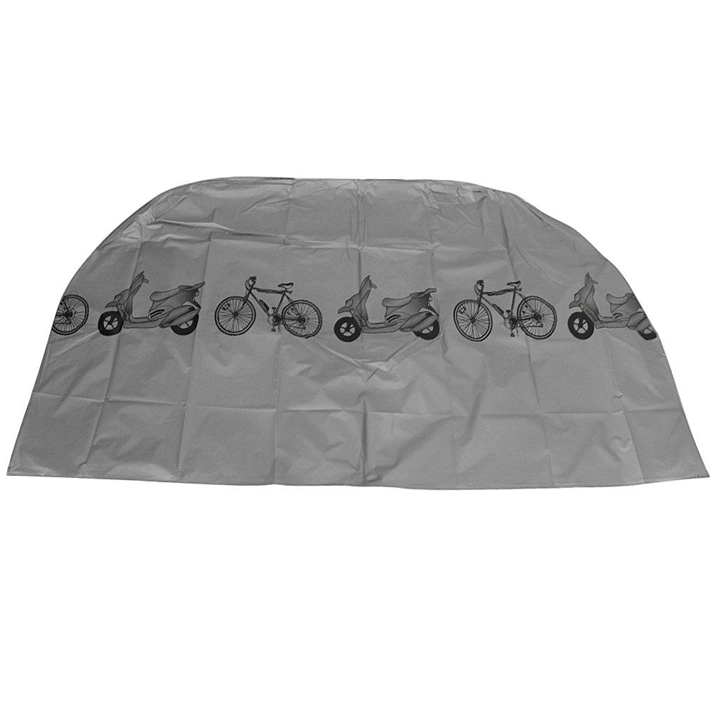 Sharplace Cubierta de Nylon Bicicleta de Montaña Carretera Plegable Protección contra Viento Seguridad