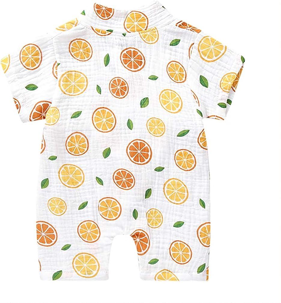 MetCuento Kimono Robe Newborn Cotton Yarn Robe Baby Romper Infant Japanese Pajamas