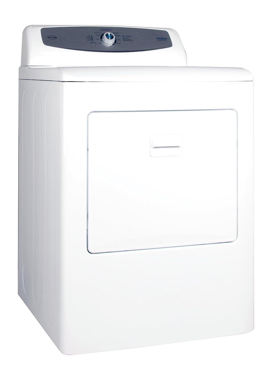 Amazon.com: Haier RDG350AW 6.5 Cubic Foot Front Load Gas Dryer, White:  Appliances