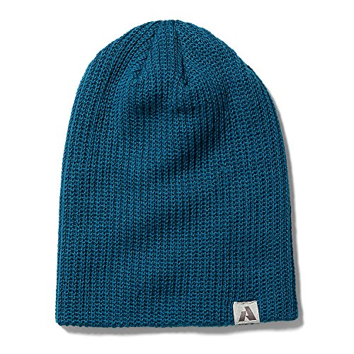 Ascent Beanie - Eddie Bauer Womens First Ascent Slouch Beanie, Peacock Regular ONE Size