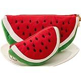 6ee1fc6f85 ADIASEN 2pcs Watermelon degisn for Pencil Bag Pencil case Pen Holder Pencil Pouch  Cosmetic Bag