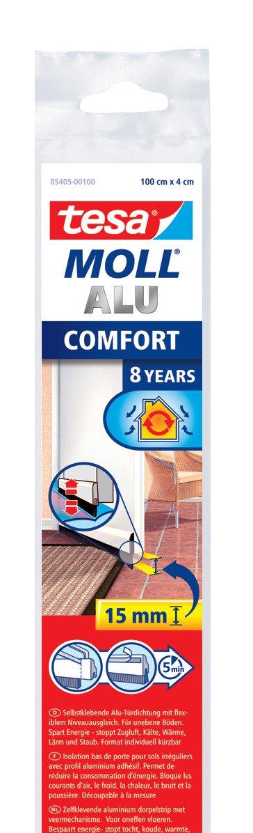 tesa Comfort / 05405-00101-00 Joint de porte pour sol iné gal Marron (Import Allemagne)