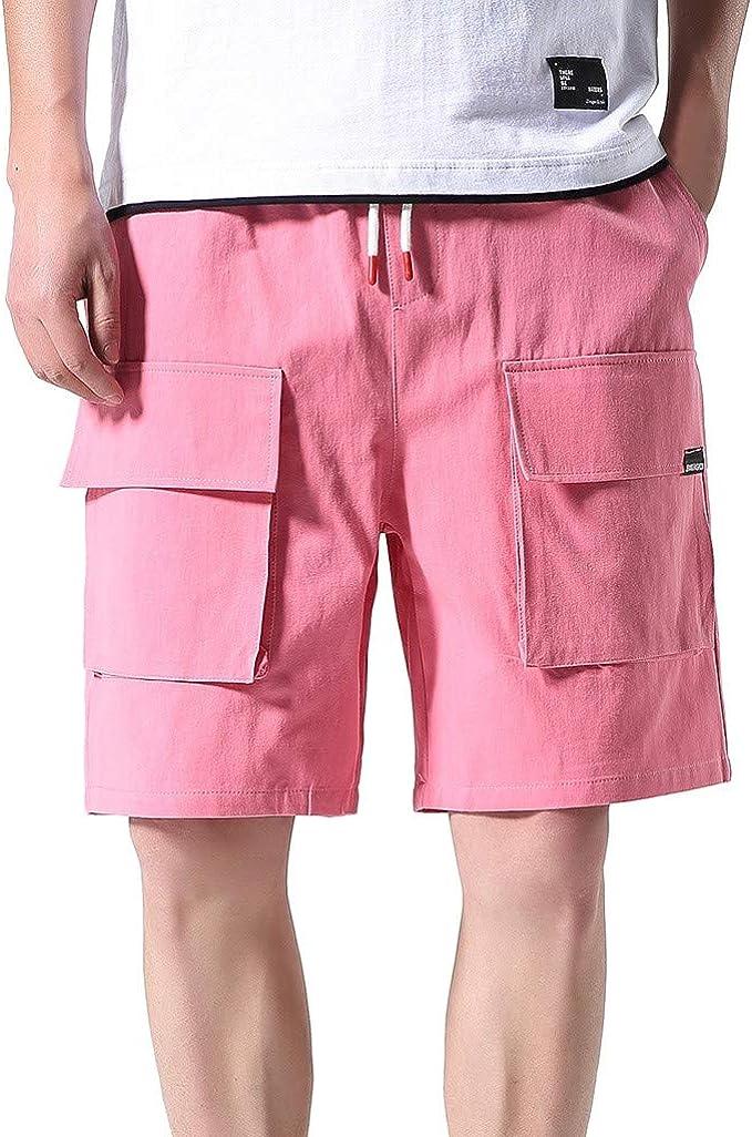 BERMUDA UOMO TAGLIE FORTI taglia 5XL pantalone maglina BE BOARD oversize nero