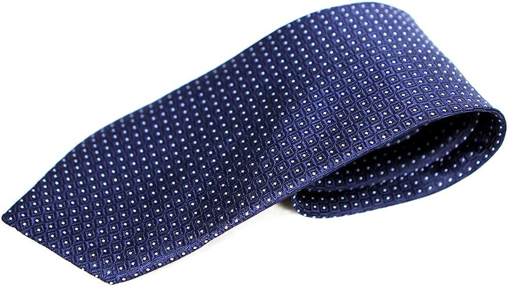 Corbata azul con puntos blancos: Amazon.es: Ropa y accesorios