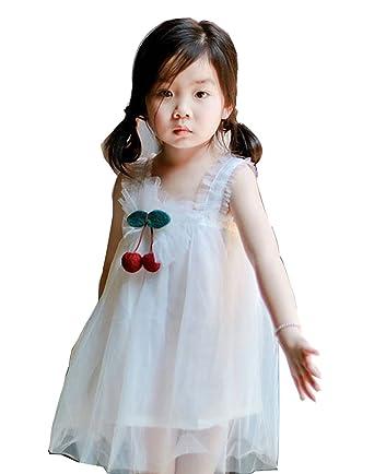 mioim MIOIM Mädchen Kleid A-linie Festlich Hochzeit Party Prinzessin ...