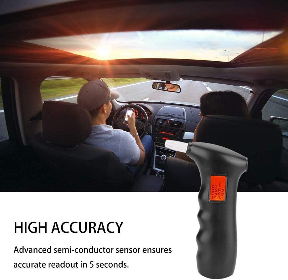 Efanty Professional /Éthylotest /Électronique Haleine Alcool Testeur Haute Sensibilit/é Alcootest Capteur Semi-Conducteur Testeur dalcool avec /Écran LCD