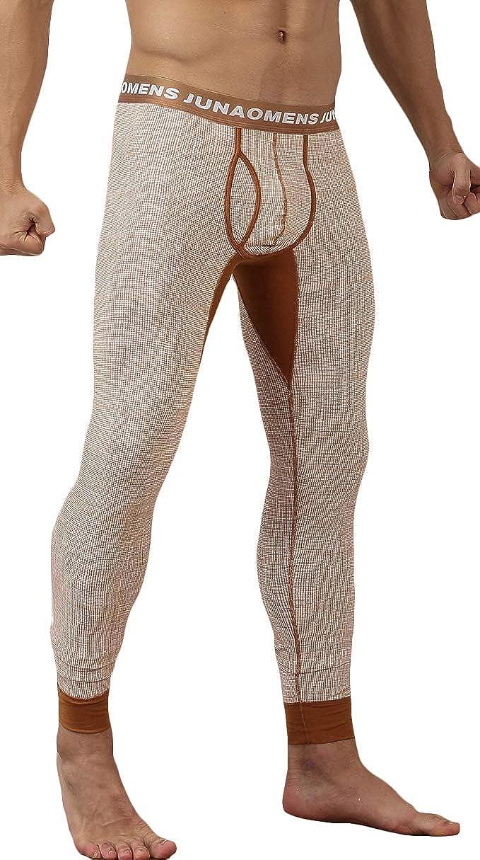 WUAMBO Men's Thermal Pant Winter Baselayer Long John Leggings VRO-N0230-01LET