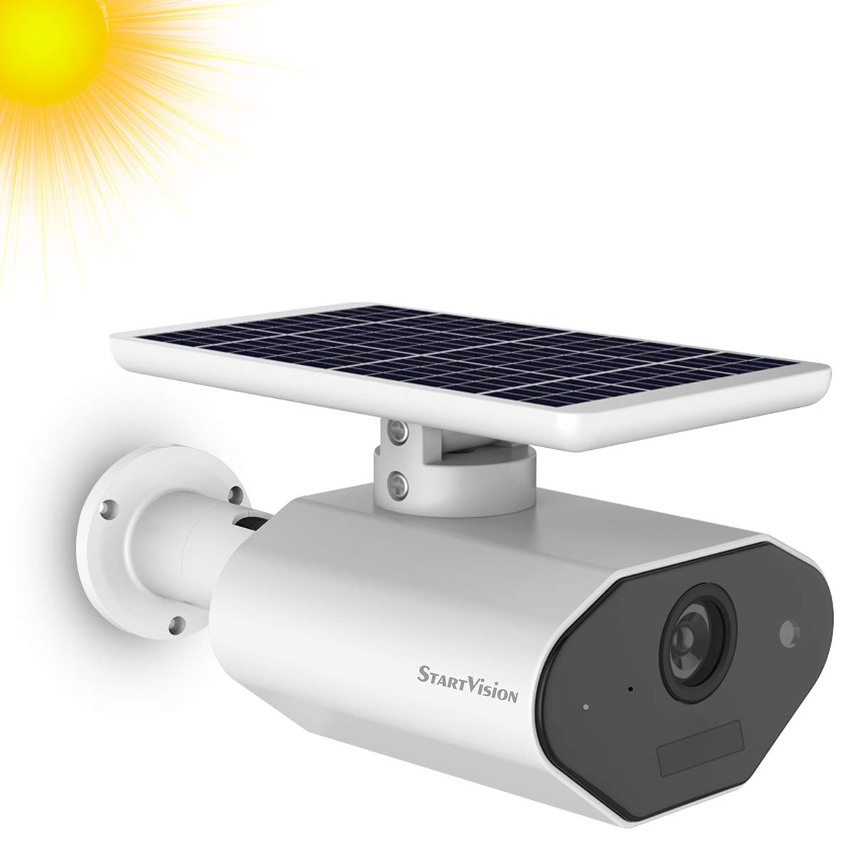 Start Vision Wireless Solar Powered Home Security Camera