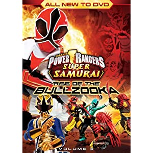 Power Rangers Super Samurai: Rise Of The Bullzooka Vol. 3 [DVD] (2013)