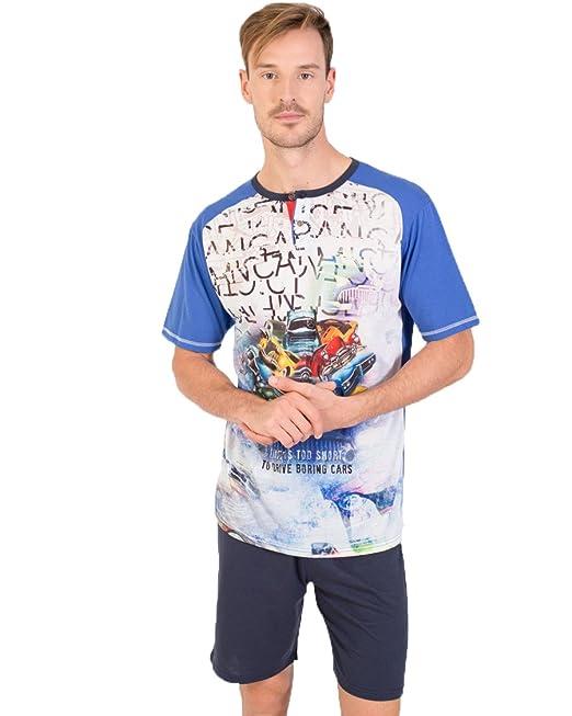 Pijama Hombre estampado Massana (XL)