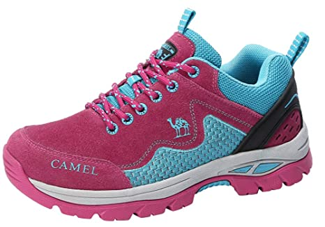 : CAMEL CROWN Hiking Shoes for Women Non Slip