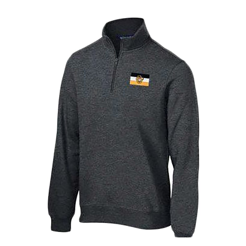 Sigma Nu Flag Patch Quarter Zip Pullover