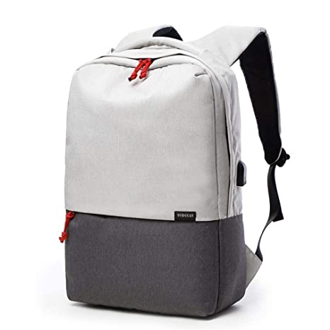 Amazon.com  Canvas School Rucksack Bag 15.6 Inch Laptop Backpack ... 9e61e75e2317d