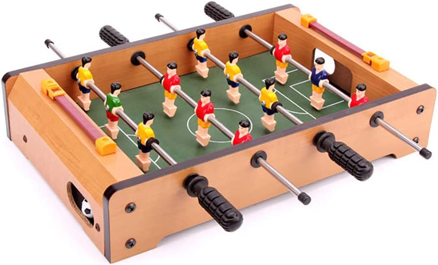 SU Juguete para Niños Juegos De Mesa Futbolín De Madera para 3-16 Años De Edad, Juego De Ocio Niño Niña Padre-Hijo: Amazon.es: Hogar