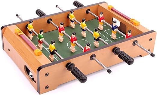 SU Juguete para Niños Juegos De Mesa Futbolín De Madera para 3 ...