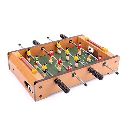 Su Juguete Para Ninos Juegos De Mesa Futbolin De Madera Para 3 16