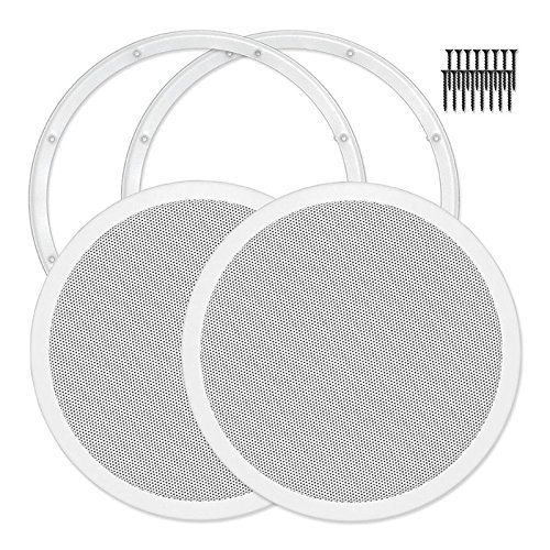 Reliable Hardware Company RH-4002-12-2-A Mount 12'' Speaker Cover, Pair by Reliable Hardware Company